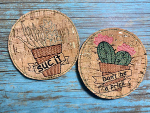 DIGITAL DOWNLOAD Succulent Coaster set 4x4