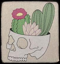 Load image into Gallery viewer, Cactus Skull 4 Sizes included