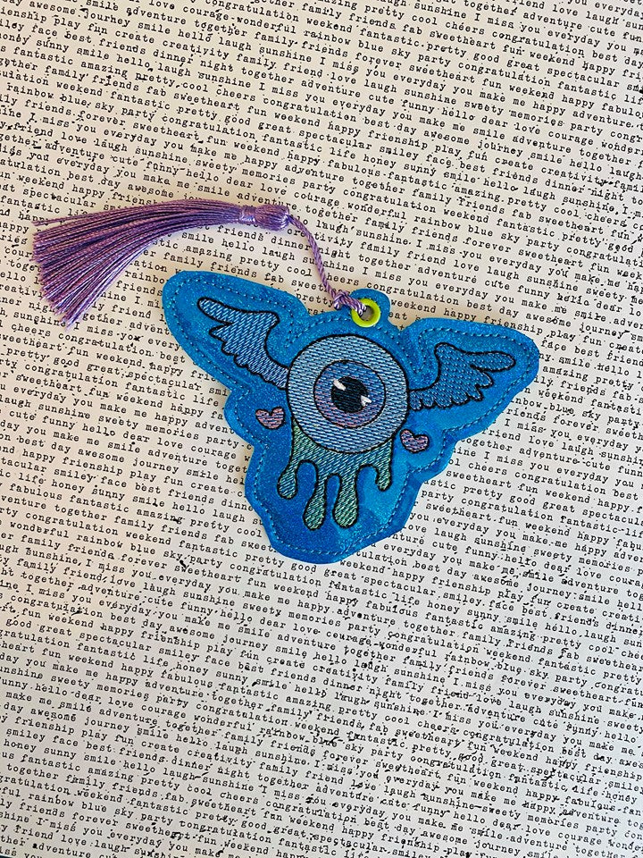 Flying eye Bookmark 4x4