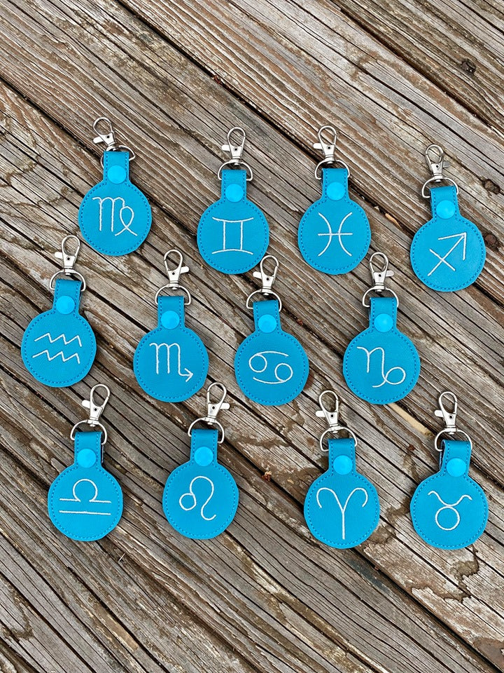 Zodiac Snap tab set of 12 designs (4x4)