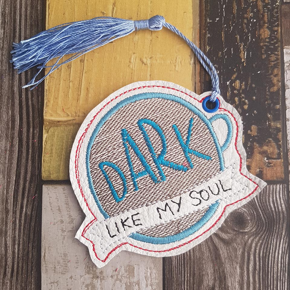 Dark Bookmark 4x4