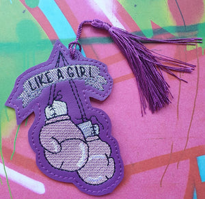 Like a Girl Book mark 4x4