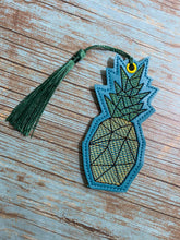 Load image into Gallery viewer, Pineapple Book mark set 4x4