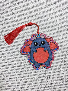 Squishy Monster Bookmark/Ornament 4x4 DIGITAL DOWNLOAD