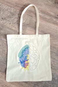 Colorful Creative Brain 6 sizes included DIGITAL DOWNLOAD