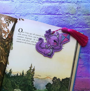 Dragon Kite Bookmark/Ornament 4x4 DIGITAL DOWNLOAD