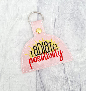 Radiate Positivity Snap tab 4x4 DIGITAL DOWNLOAD