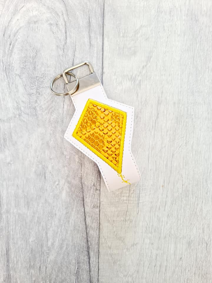 Kite Applique Key fob 5x7 & 6x10 sizes included DIGITAL DOWNLOAD