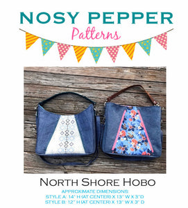 North Shore Hobo PDF Sewing Pattern