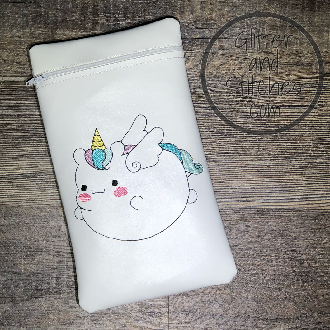 Fat Unicorn ith bag 5 sizes available DIGITAL DOWNLOAD