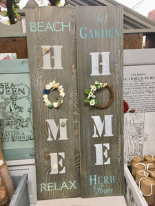 DIY Home Sign Workshop
