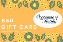 Load image into Gallery viewer, Signature Finishes Gift Card