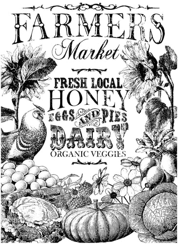 FARMER'S MARKET 24×33 PAINTABLE™ DECOR TRANSFER™