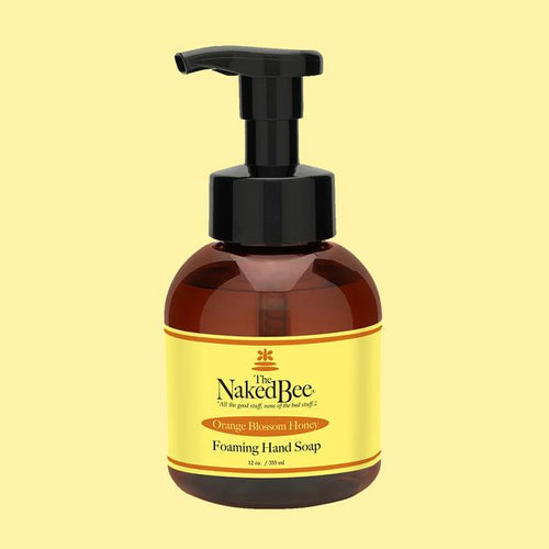 Naked Bee Orange Blossom Honey Foaming Soap