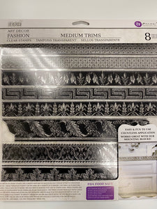 1ST GENERATION MEDIUM TRIMS 12×12 DECOR STAMP-