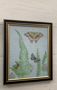 Framed Botanical Plaque