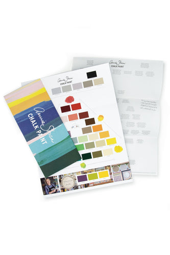 Annie Sloan Color Card