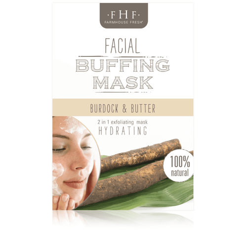 Burdock Root & Butter Facial Buffing Mix