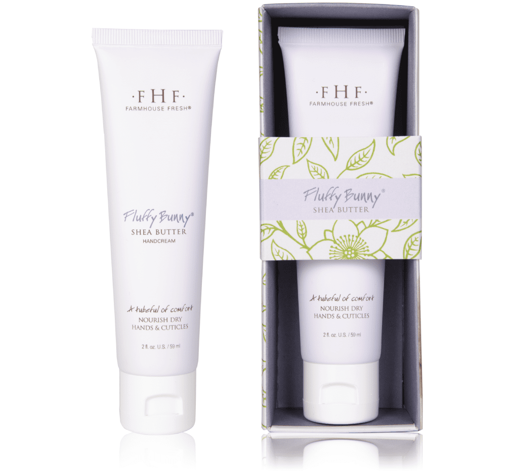 Fluffy Bunny Shea Butter Hand Cream Tube