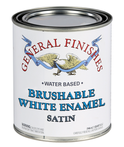 General Finishes Brushable White Enamel (1 Quart)