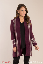 Simply Noelle-City Limits Cardigan L/XL