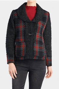 Coco+Carmen Creston Plaid Jacket