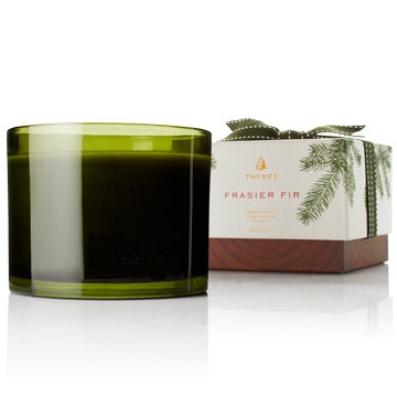 THYMES- FRASIER FIR POURED CANDEL 3 WICK