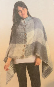 Simply Noelle-Plaid Poncho