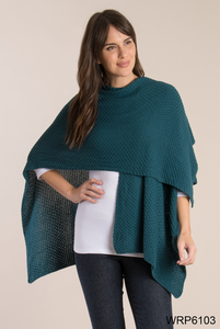 Simply Noelle-Open Weave Knit Wrap