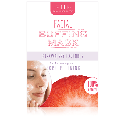 Strawberry Lavender Facial Buffing Mix