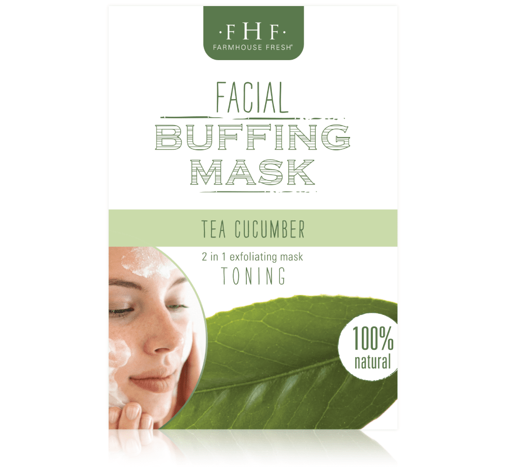 Tea-Cucumber Facial Buffing Mix