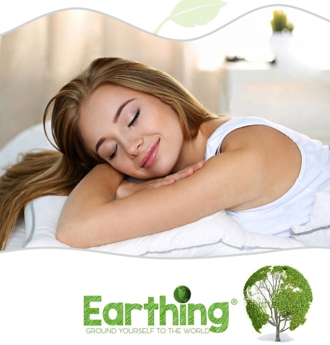 Earthing Sheet Twins XL (99 x 203cm) Silver Antimicrobial Fabric Conductive fabric Radiant Life Earthing sheet Kit