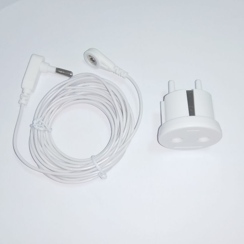 Earthing EU Socket with the grounding cord for earthing sheets
