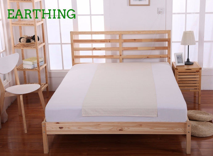 EARTHING Half Sheet (60 x 250cm)  bed linings health care Anti-free radicals New year gift