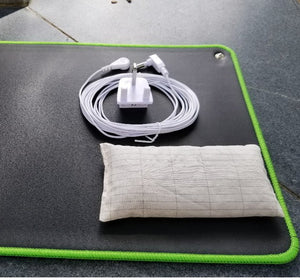 Earthing desk Mat with cover bag EMF protection for health 68*26cm