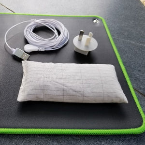 Earthing Mat  EMF protection for health 68*26cm with cover bag
