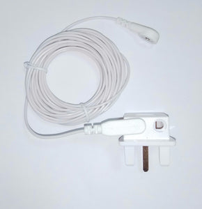 Earthing UK Socket plug with grounding cord for Earthing sheet /  pillow case / earthing mat