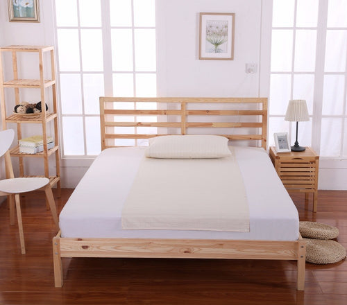 EARTHING Bed linings Half Sheet (90 x 280cm) 1pcs health care Anti-free radicals Anti-Aging Birthday gift