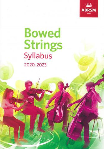 ABRSM Bowed Strings Syllabus 2020 - 2023