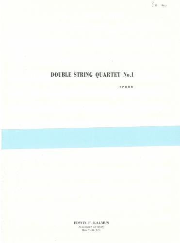 Spohr: Double String Quartet No. 1, Op.65 (Set of Parts)