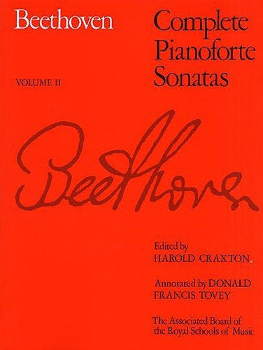 Beethoven: Complete Pianoforte Sonatas, Volume 2 (Softcover)