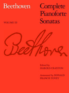 Beethoven: Complete Pianoforte Sonatas, Volume 3 (Softcover)