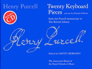 Twenty Keyboard Pieces, Piano/Harpsichord, Purcell & Gibbons