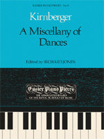 Kirnberger: A Miscellany of Dances (Piano Solo)