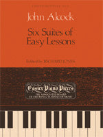 Alcock: Six Suites of Easy Lessons with a Trumpet Piece.