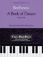 A Book of Dances, WoO 81-86, Piano, Beethoven