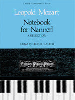 Notebook for Nannerl (A Selection) Archive Edition (Piano Solo)