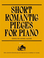 Short Romantic Pieces for Piano, Book 1 (Piano Solo)