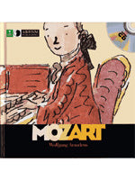 First Discovery Music Series - Mozart (Book and CD) (Books)