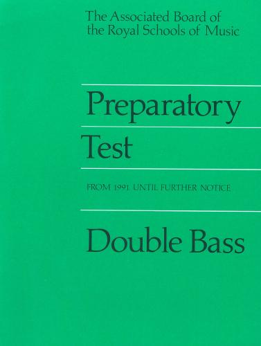 AB Preparatory Test for Double Bass